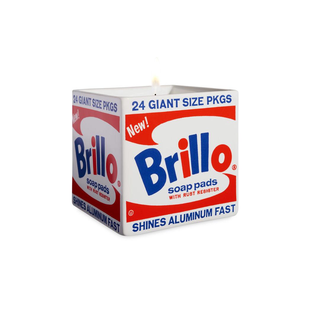 ウォーホル:スクエア キャンドル Brillo