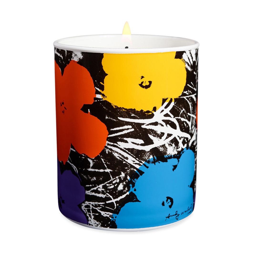MoMA Design Storeウォーホル:Flowers キャンドル