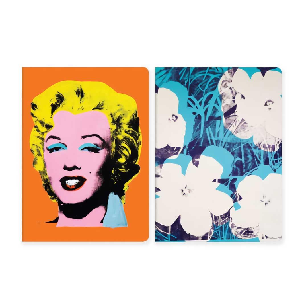 ウォーホル:Marilyn ノートブック 2個セット