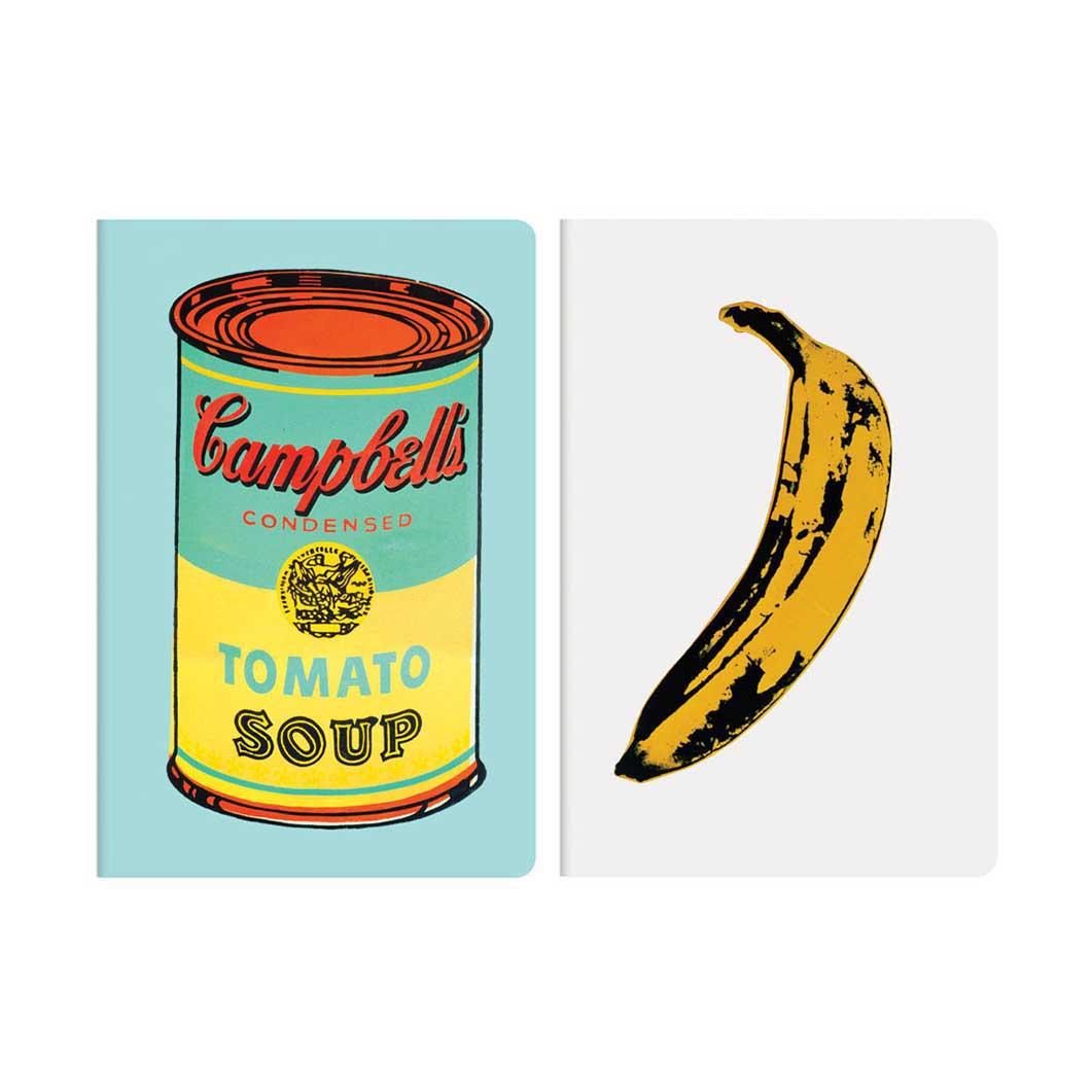 ウォーホル:Soup ノートブック 2個セット