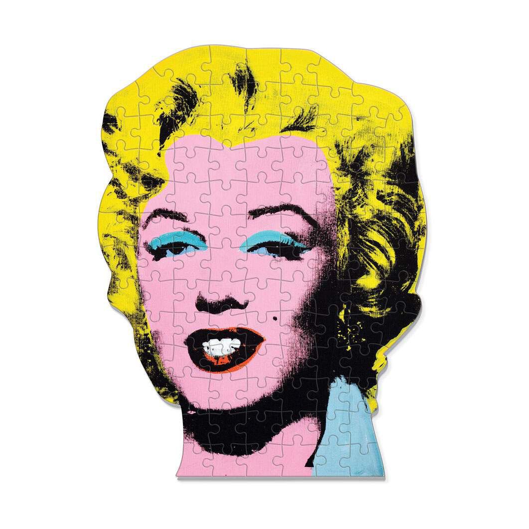 Andy Warhol ミニ シェイプ パズル マリリン