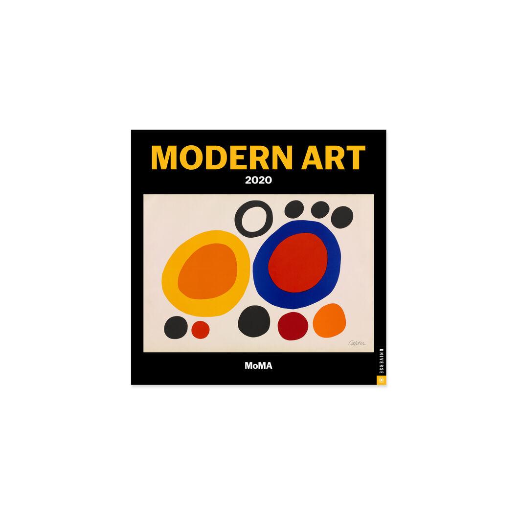 MoMA モダンアート ミニ カレンダー 2020