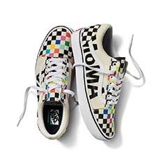 VANS and MoMA コンフィクッシュ オールドスクール MoMA Unisex 25.0cm