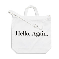 MoMA Hello Again トートバッグ